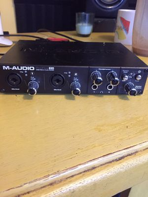 M-Audio Pro Fire 610 Audio Interface for Sale in Los Angeles, CA