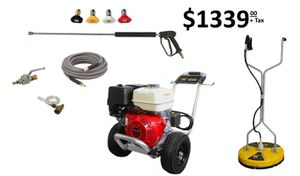 Pressure washer surface cleaner combo 4000 psi @ 4gpm new for Sale in Coconut Creek, FL