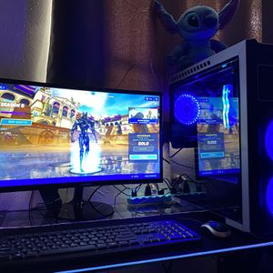 """Custom Gaming Computer includes 24"""" Curved Monitor with vSync for Sale in South Gate, CA"""