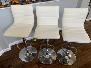 3 bar chairs for Sale in Lewisville, TX
