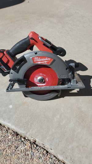 Milwaukee fuel 7 1/4 circular saw for Sale in Mesa, AZ