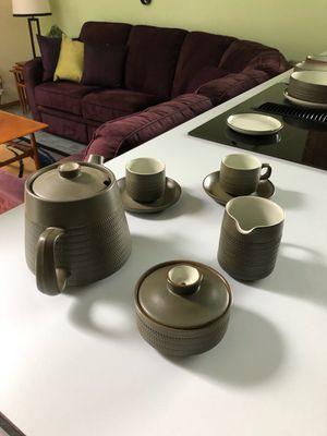 Denby pottery tea set for Sale in Auburn, WA