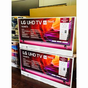 LG 55 inch 4K TV smart with warranty for Sale in Chino, CA