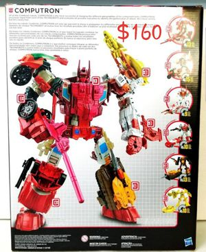 COMPUTRON Transformers Generations Combiner Wars Hasbro action figure NEW for Sale in Covina, CA