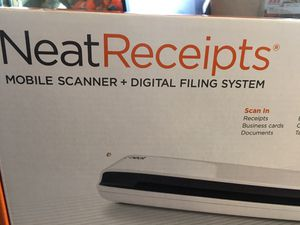Neat receipt scanner (new) for Sale in Fresno, CA