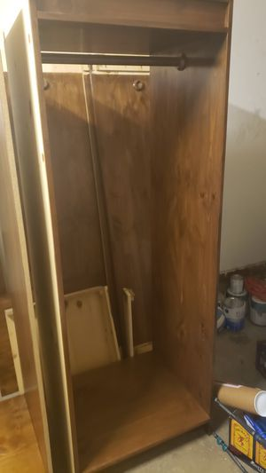 1 hanging closet for Sale in Tacoma, WA