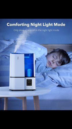 Brand new Humidifiers, 4L Cool Mist Ultrasonic clean air reduce virus cough. for Bedroom Home Large Room Baby Room, Quiet Operation, LED Display with for Sale in McLean,  VA