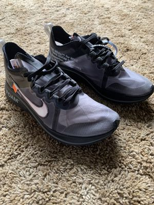 Nike off white zoom fly for Sale in Salisbury, NC
