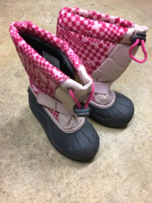 Snow boots. Size 11 girls. Kids for Sale in Fresno, CA
