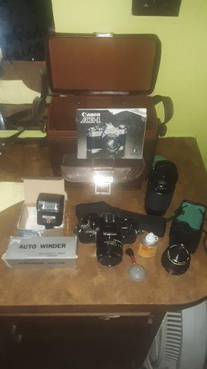 Vintage Canon AE-1 Film Camera for Sale in Brooksville, FL