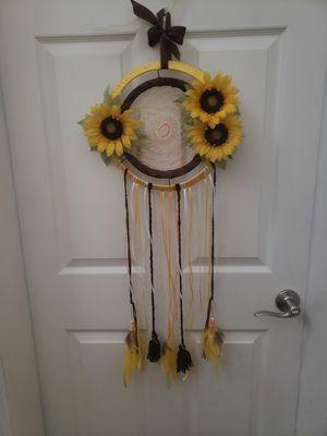 Sunflower Dreamcatcher Handmade for Sale in Eagle Lake, FL