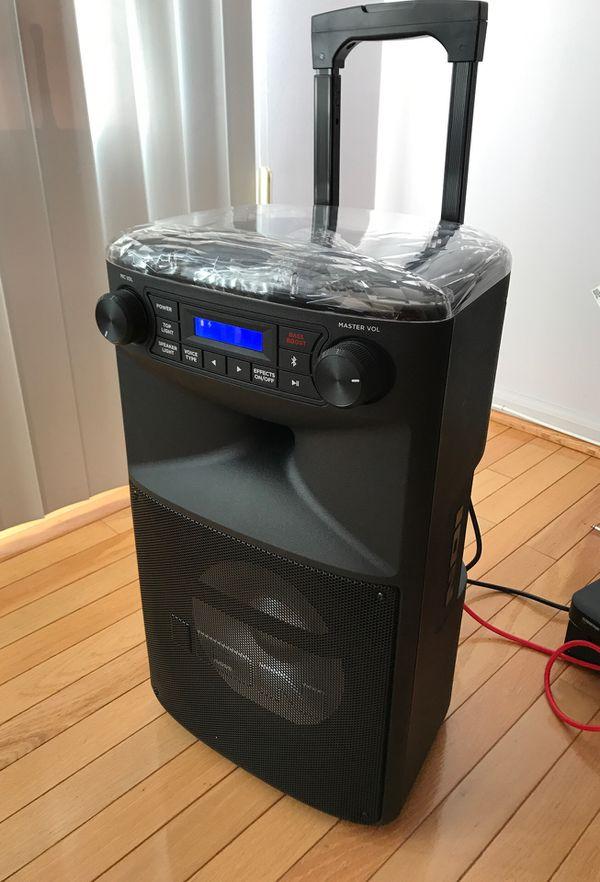 ION Block Party Ultra Speaker Karaoke PA