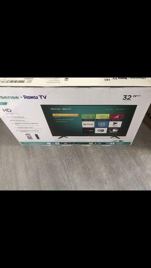 32 INCH HISENSE HD ROKU 4F SMART TV for Sale in Chino Hills, CA