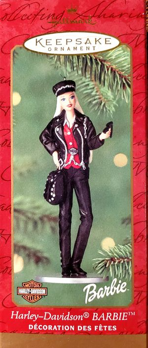 Hallmark Harley Davidson Barbie Keepsake Ornament 2000 for Sale in Roseville, CA