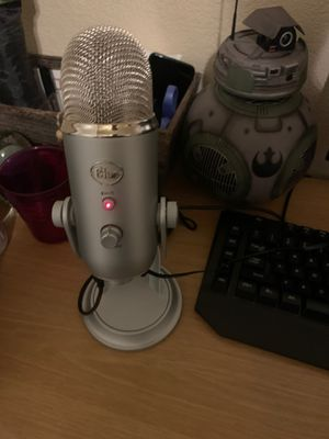 Blue Yeti Microphone for Sale in Garden Grove, CA