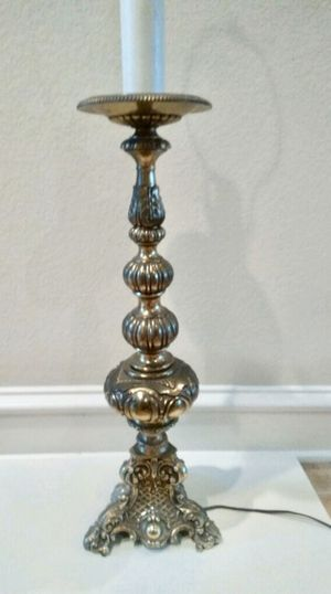 Brass ornate antique lamp for Sale in Houston, TX