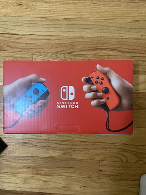 Brand New Switch for sale with Mario Part for Sale in Pompton Lakes, NJ