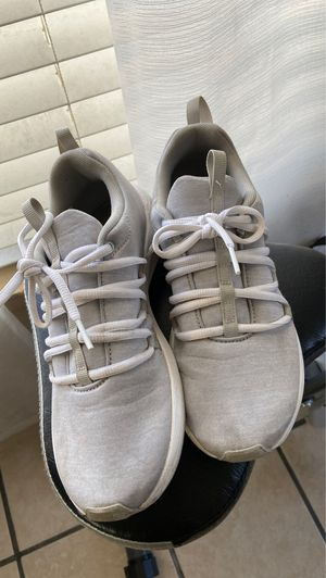 White and grey pumas for Sale in Hesperia, CA