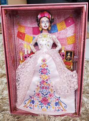 Barbie Dia De Los Muertos Doll 2020 Limited Edition by Mattel | BRAND NEW + RECEIPT for Sale in North Miami, FL