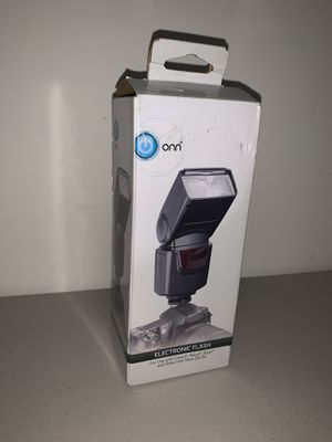 Onn ELECTRONIC FLASH For DSLR Cameras for Sale in Gaithersburg, MD