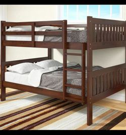 New Full Captain Bed + Twin Trundle And 3 Drawers Set / Mattress Included/29 down for Sale in Houston,  TX