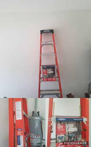 Werner 8ft ladder,like new. for Sale in Columbia, SC