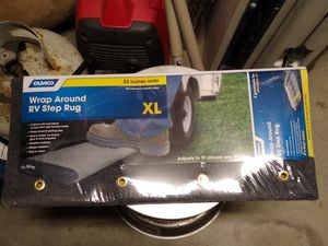 XL Camco Wrap Around RV Step Rug for Sale in Visalia, CA