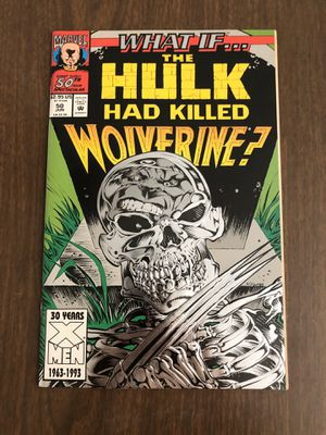Marvel vintage the hulk/Wolverine collectible comic for Sale in Los Angeles, CA
