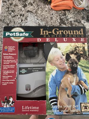 Pet safe invisible fence for Sale in Atco, NJ