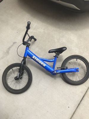 """16"""" Strider bike with brakes for Sale in San Diego, CA"""