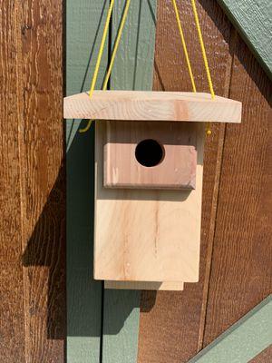 Chickadee nesting box for Sale in Hermon, ME