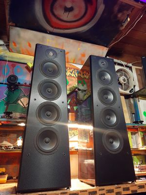 Polk Audio LS90 flag ship Tower Speakers original box and packaging included for Sale in Auburn, WA