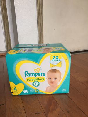 pampers SIZE 4 66 pañales for Sale in East Compton, CA