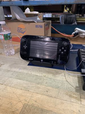 NINTENDO WII U CONSOLE - 32GB BLACK DELUXE SET for Sale in Upper Darby, PA