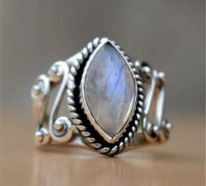 Huge Moonstone Silver gemstone Ring size 7 for Sale in Houston, TX