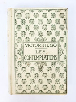 Les Contemplation by Victor Hugo in French - Hardcover Nelson Editors, Paris (circa 1930) for Sale in Trenton, NJ