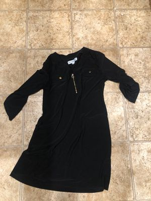 Black dress size large for Sale in Manteca, CA
