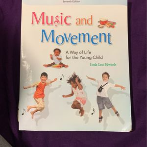 Music And Movement A Way Of Life For The Young Child By Linda Carol Edwards for Sale in La Presa, CA