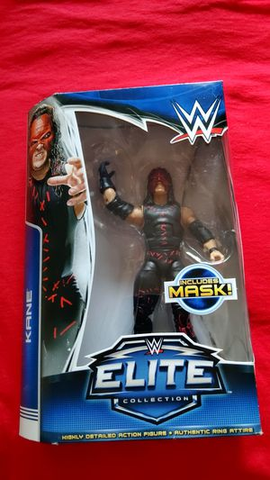 KANE Series 31 WWE Elite Collection Mattel raw smackdown mask for Sale in Cypress, CA