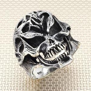 Skull Heads Ring Sterling Silver for Sale in Mountlake Terrace, WA