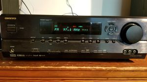 Onkyo Receiver/Speakers/Subwooder for Sale in Fairfax, VA
