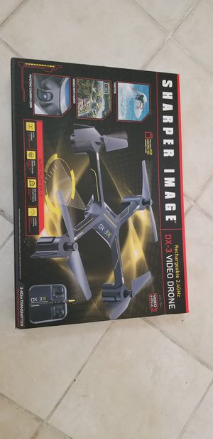 Sharper Image Like New Dx3 Drone w/memory chip for Sale in Wellington, FL