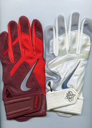 Nike Batting Gloves (7 pairs) (size Large) for Sale in Universal City, CA