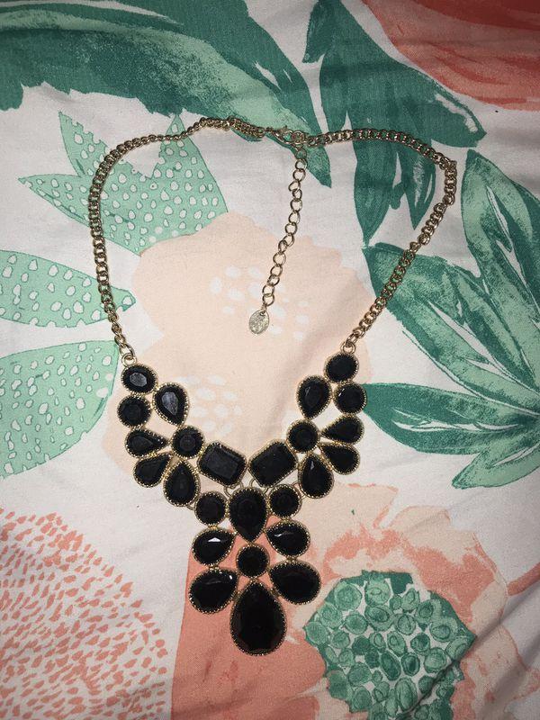 Black Necklace $1