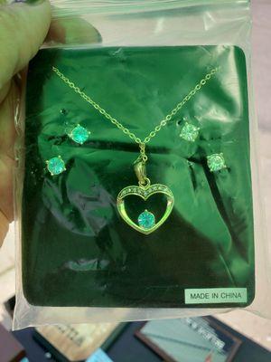 Brand new beautiful jewelry set gemstones for Sale in Reynoldsburg, OH