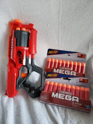 Mega Nerf Gun with 25 bullets included for Sale in Lawndale, CA