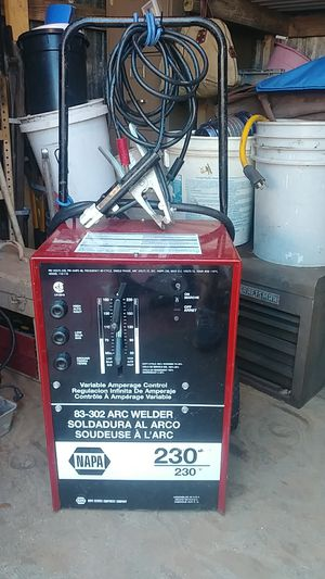 Napa 83-302 arc welder 230v for Sale in Sebring, FL