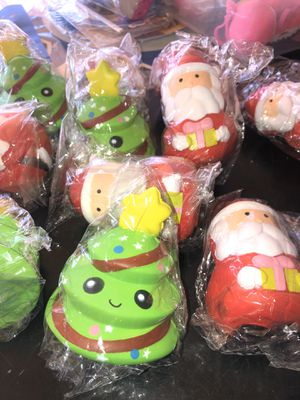 Christmas squishies $1 each for Sale in Lakewood, CA