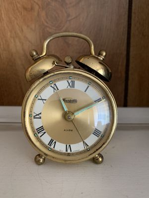 Antique Early 1900's Forestville Alarm Clock Made in Germany for Sale in Ontario, CA