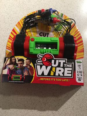 Cut The Wire Family Game Puzzle Cut the wire Before it's too late by Yulu for Sale in Renton, WA